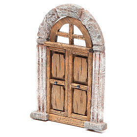 Door arched for nativity 18x12cm s2