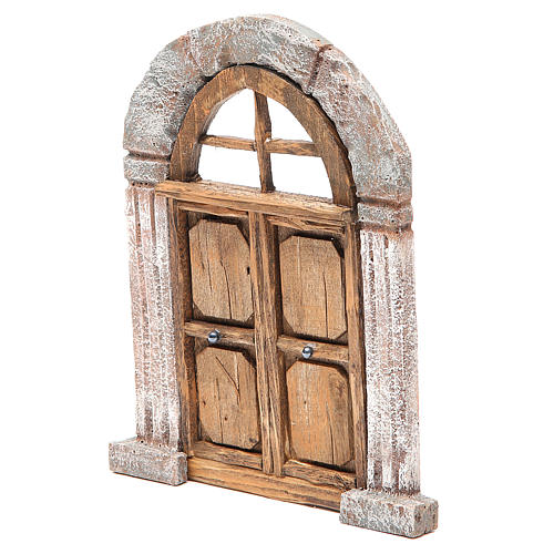 Arch door and columns for nativity 22x14cm 2