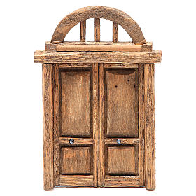 Arched door for front 18x12cm s1