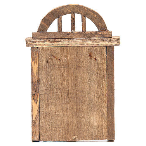 Arched door for front 18x12cm 3