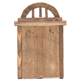 Porte en arc 18x12 cm s3