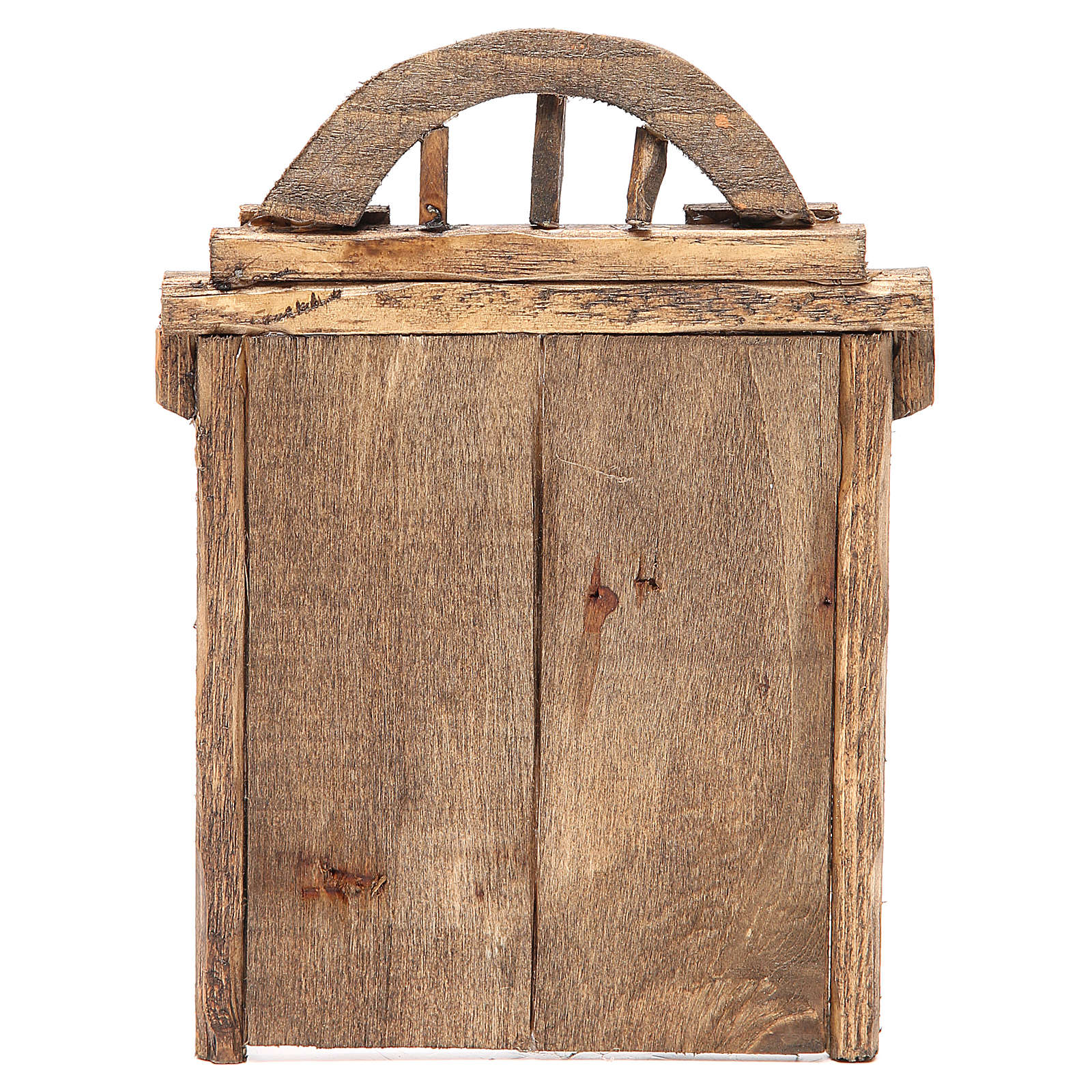 Portail en arc pour crèche 22x14 cm 4