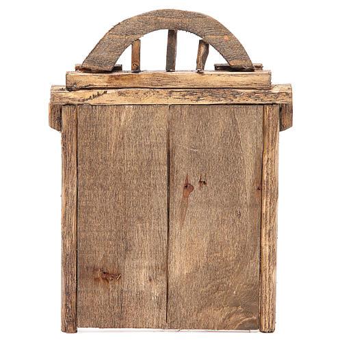 Portail en arc pour crèche 22x14 cm 3