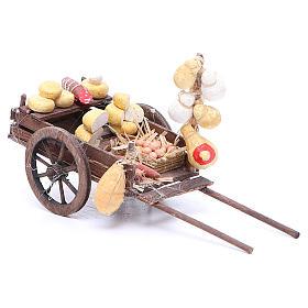 Carretto frutta 9x15x6 cm presepe napoletano s2
