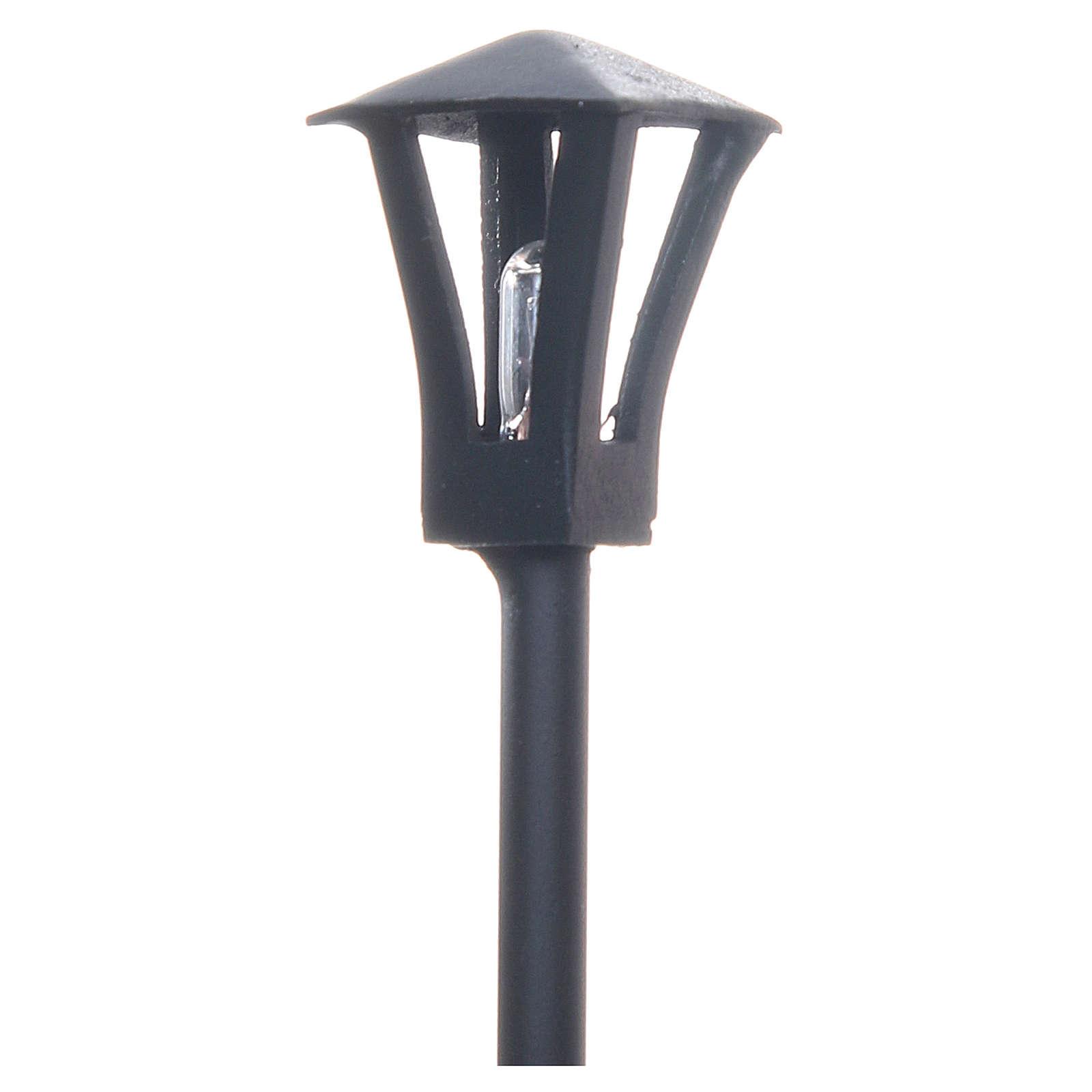 Lampione a terra per presepe 12 cm 4