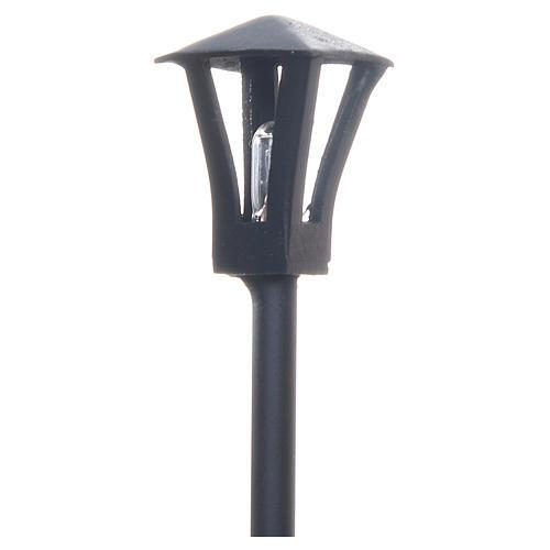 Lampione a terra per presepe 12 cm 2