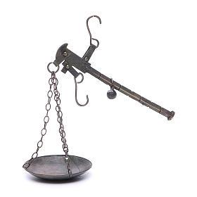 Balanza en metal diam 6 cm belén Nápoles s1
