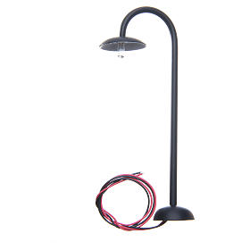 Curved street lamp for 13cm nativities s2