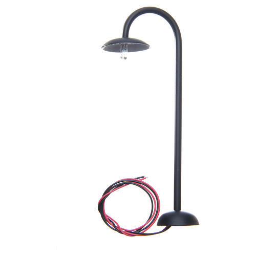Curved street lamp for 13cm nativities 2
