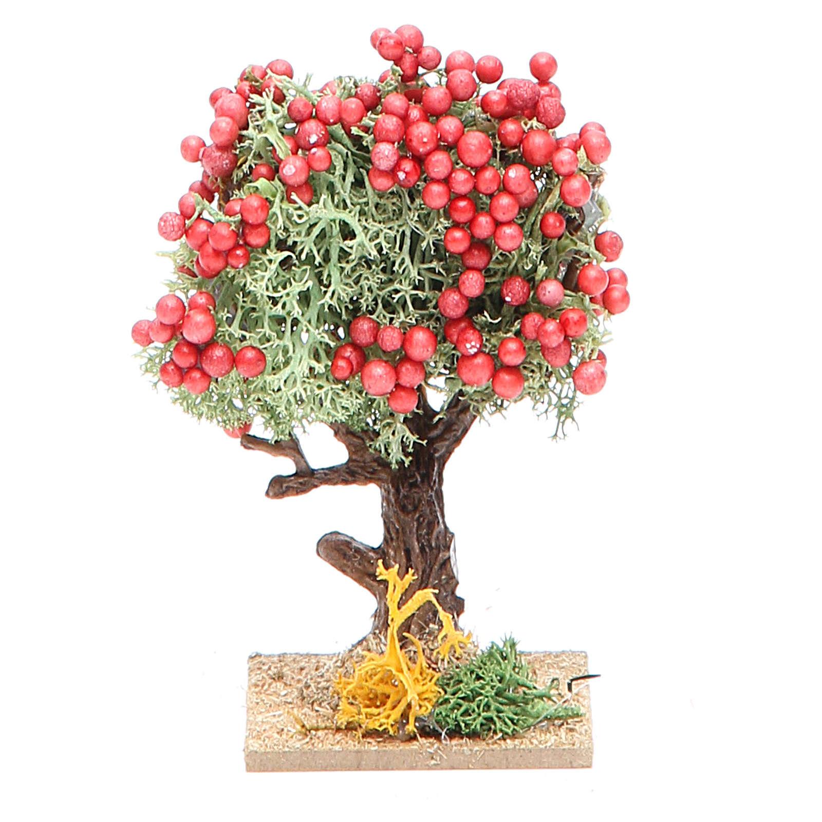 Fruit tree for nativity scene, assorted models 4