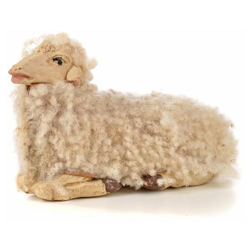 Kit 3 ovejas con lana 14 cm. belén Napolitano 4
