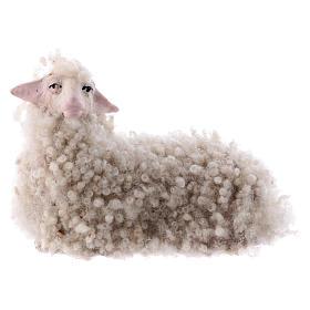 Kit 3 pecore con lana 18 cm presepe napoletano s4