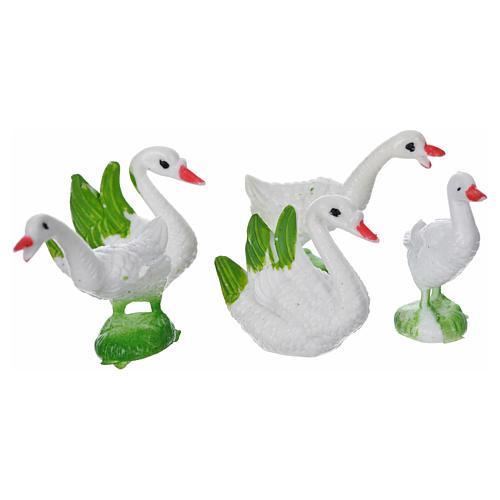 Nativity figurine, geese 5pcs 2