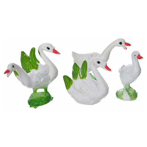 Nativity figurine, geese 5pcs 2