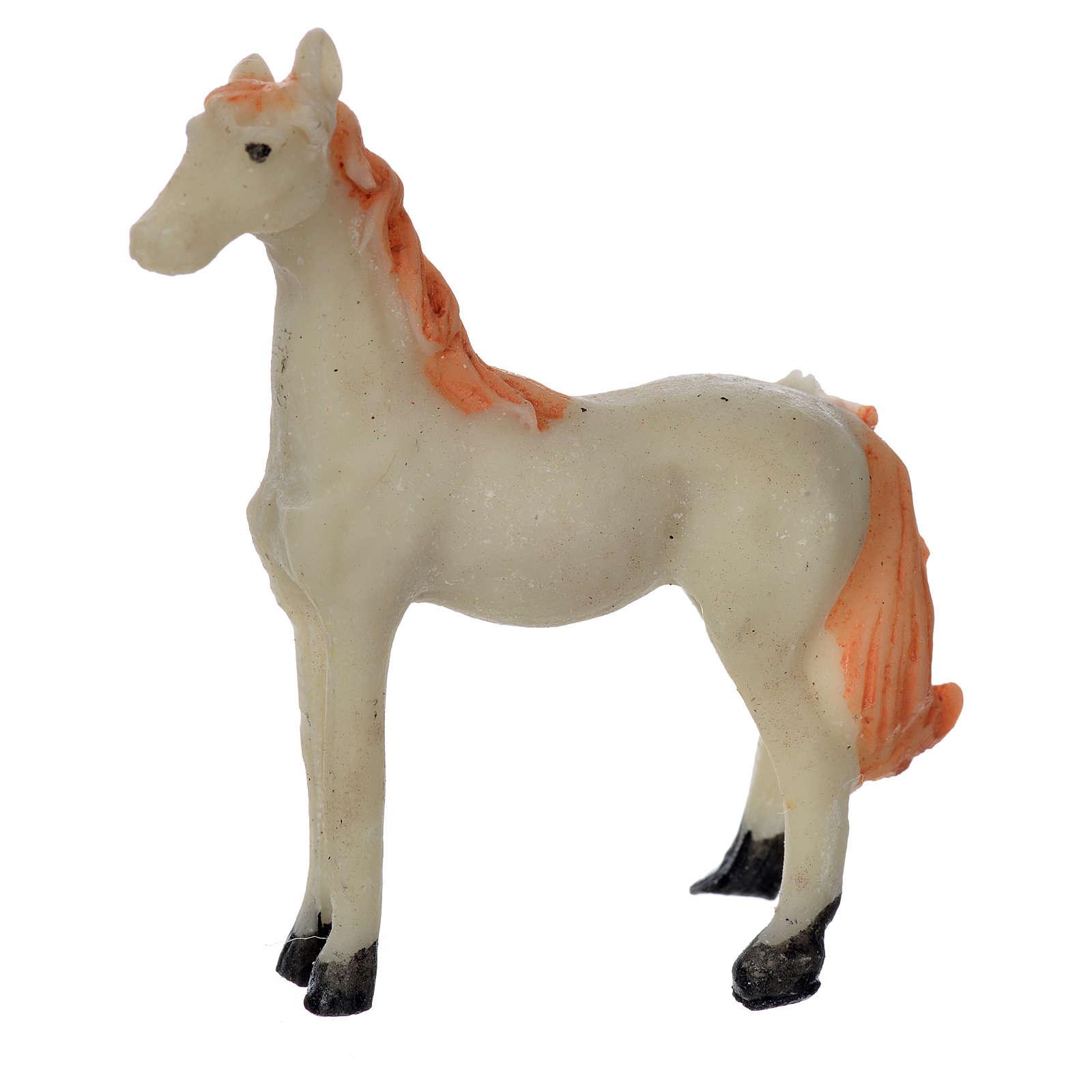 Koń szopka 8 cm 3