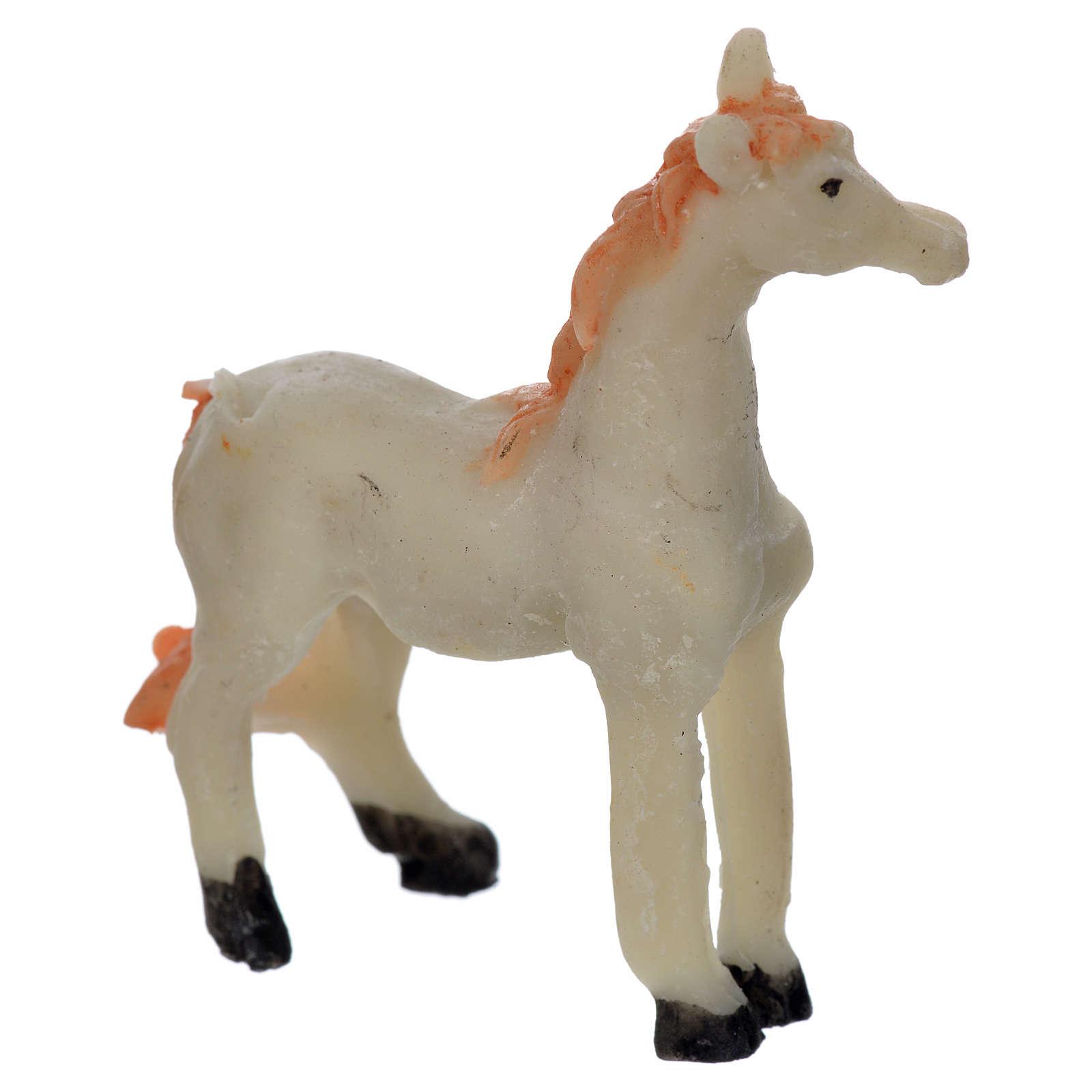 Nativity figurine, horse 4,5x6,5 cm 3