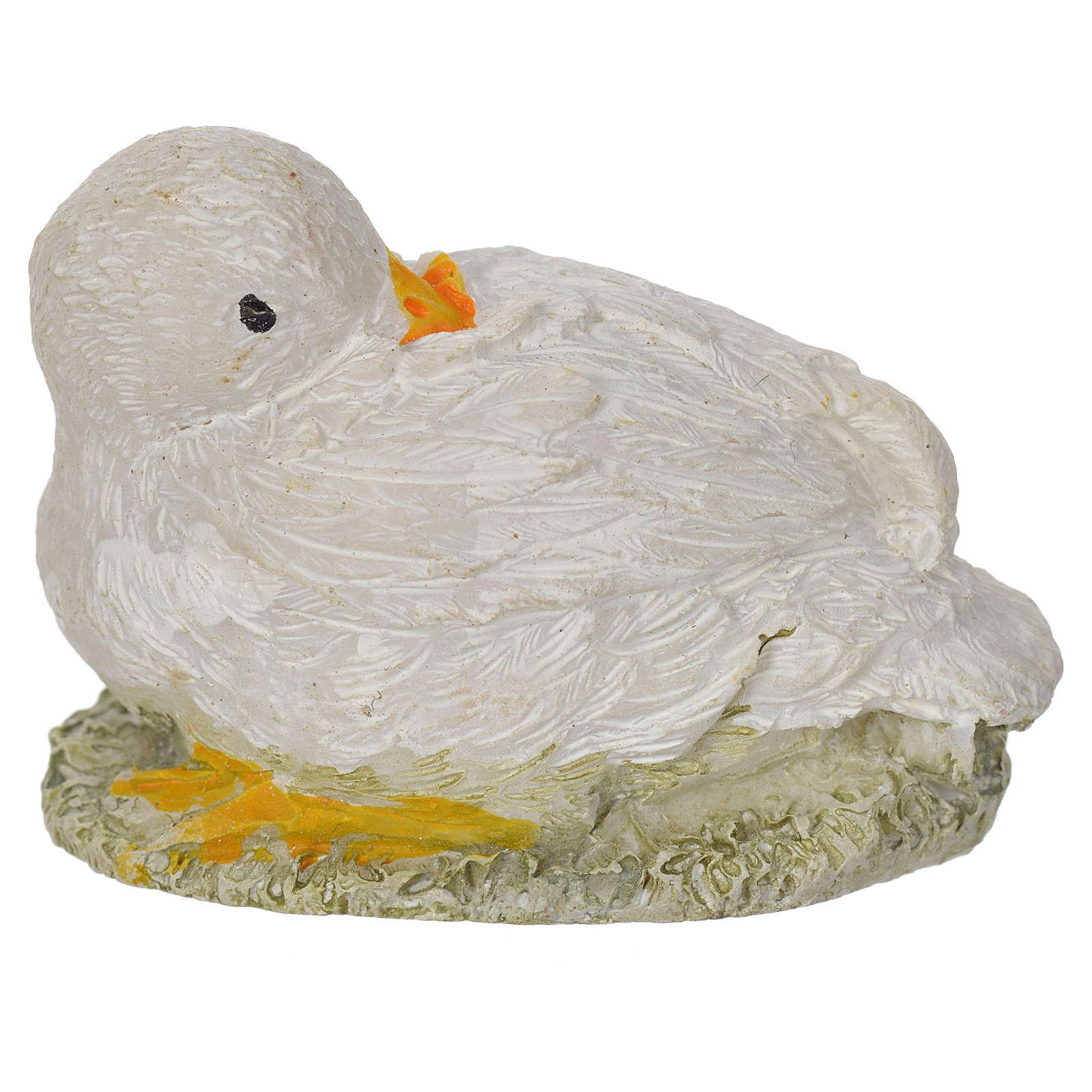 Oie en miniature 8-10-12 cm 3