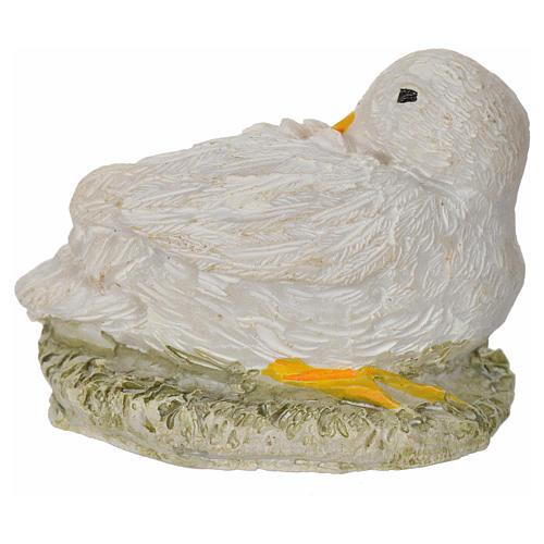 Oie en miniature 8-10-12 cm 1