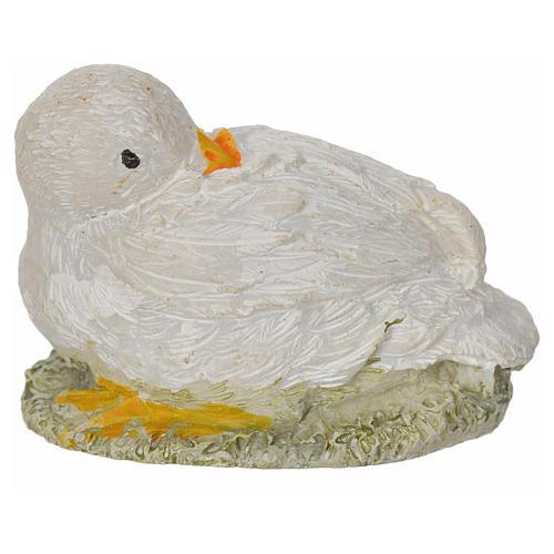 Oie en miniature 8-10-12 cm 2