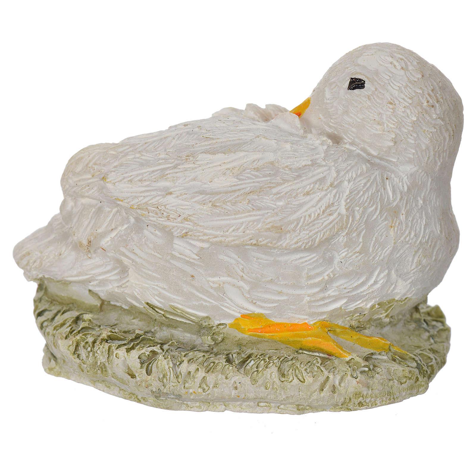 Nativity figurine, duck 8-10-12 cm 3