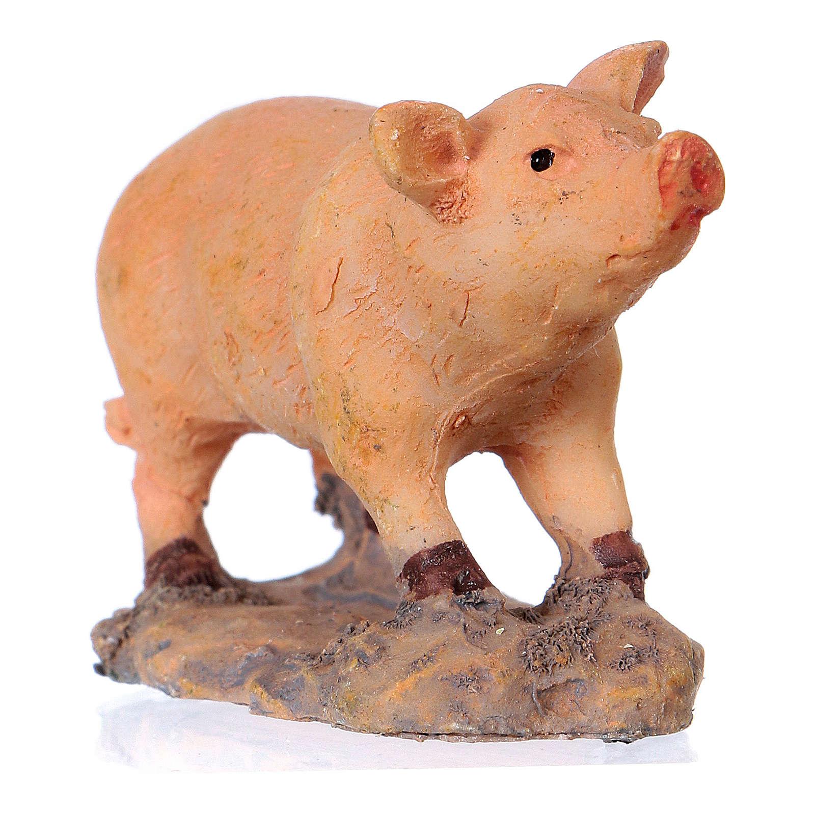 Nativity figurine, pig 8-10-12 cm 3