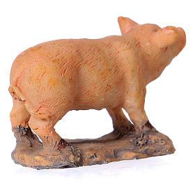 Nativity figurine, pig 8-10-12 cm s3