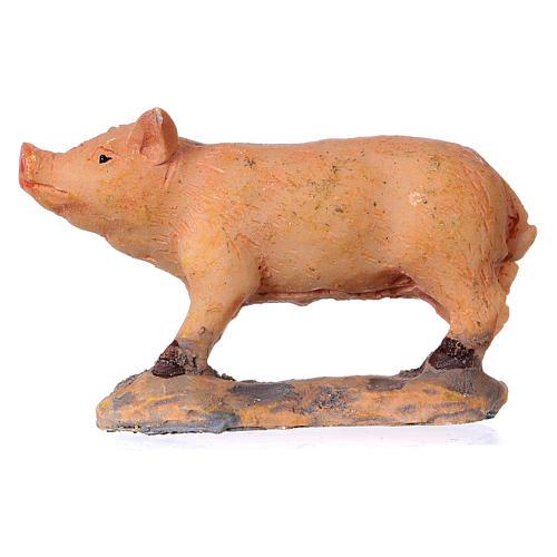 Nativity figurine, pig 8-10-12 cm 1