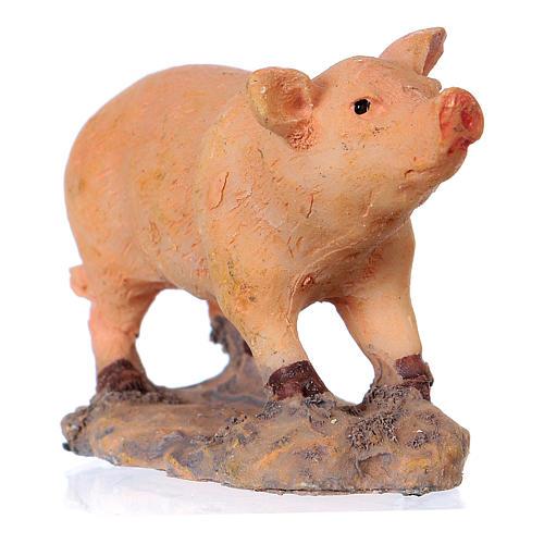 Nativity figurine, pig 8-10-12 cm 2