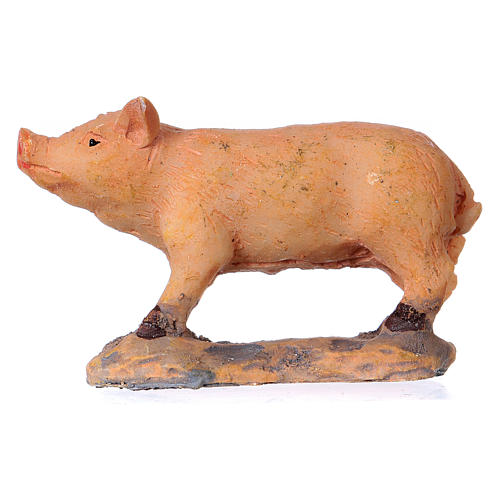 Nativity figurine, pig 8-10-12 cm 1