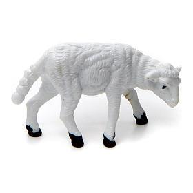 Animals for Nativity Scene: Nativity figurine, sheep in PVC 6 cm