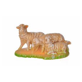 Animals for Nativity Scene: Nativity figurine, group of sheep 12 cm