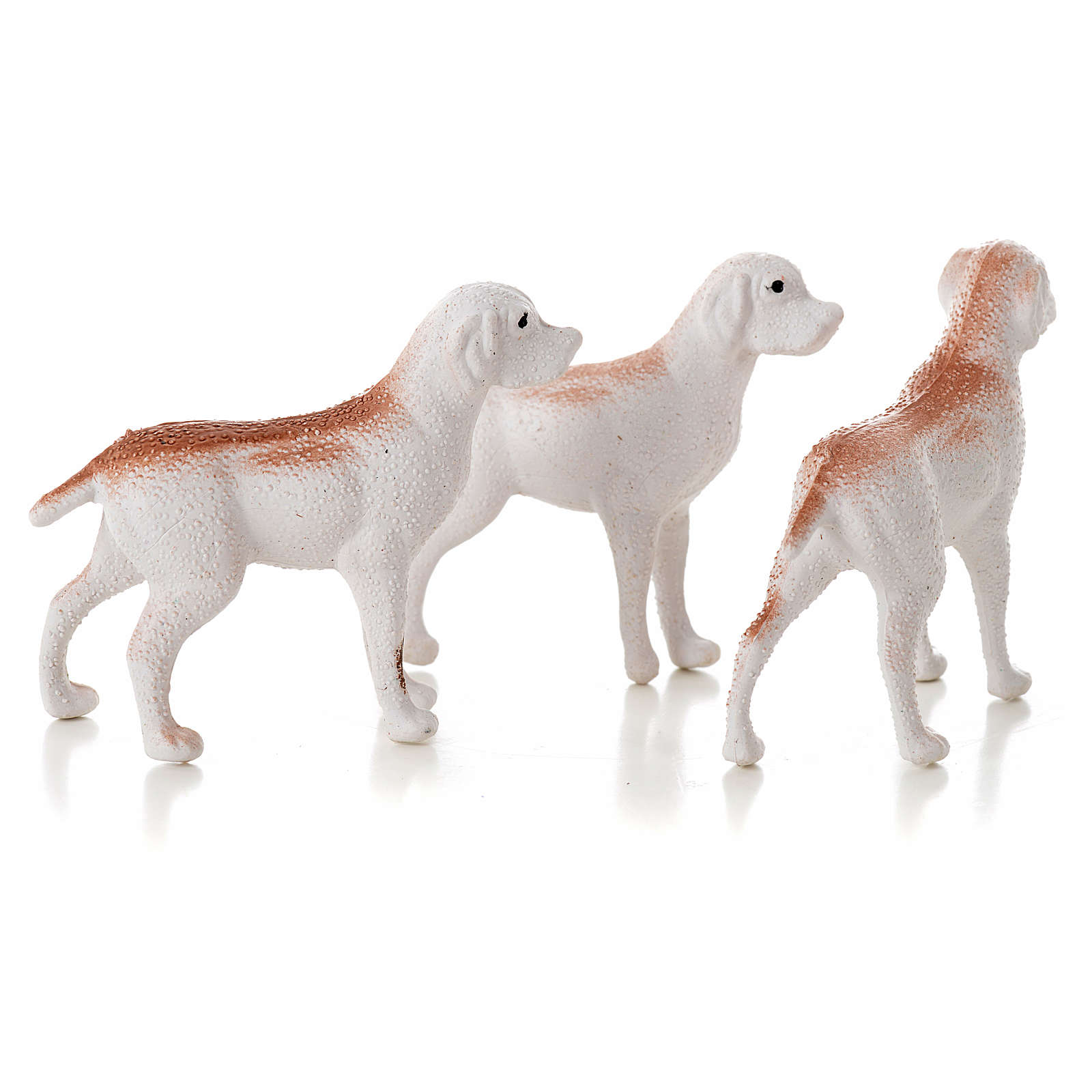 Nativity figurine, dogs 12 cm (3 pcs) 3