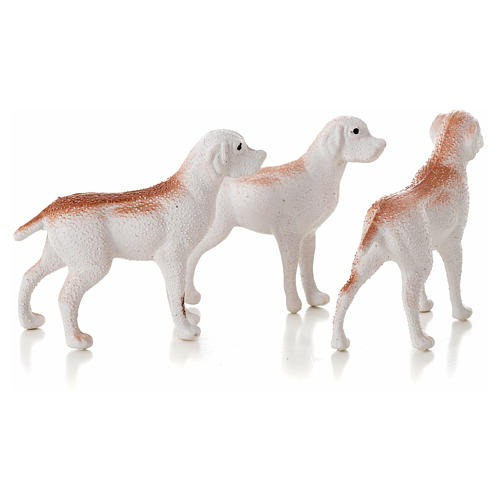Nativity figurine, dogs 12 cm (3 pcs) 2