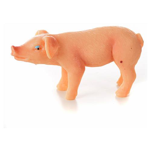 Porc en résine crèche de noël, 6-8-10 cm 2