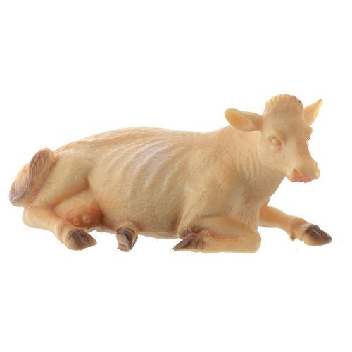 Cow in resin 10cm 1