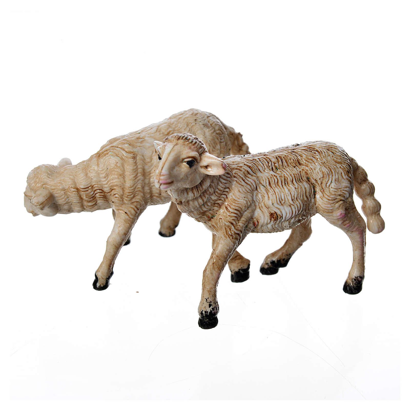 Pecore 2 pezzi 8 cm 3
