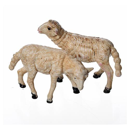 Pecore 2 pezzi 8 cm 1