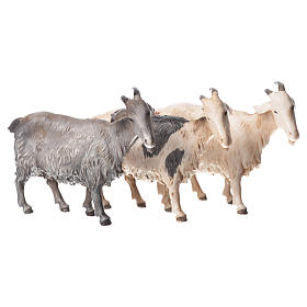 Nativity Scene by Moranduzzo: Nativity Scene goats by Moranduzzo 10cm, 3 pieces