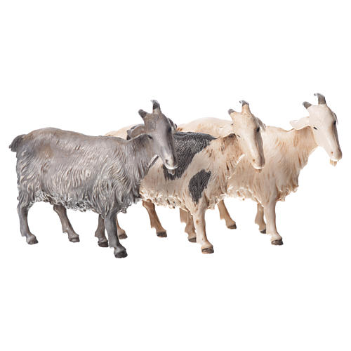 Chèvres crèche Moranduzzo 10cm, 3 pcs 1