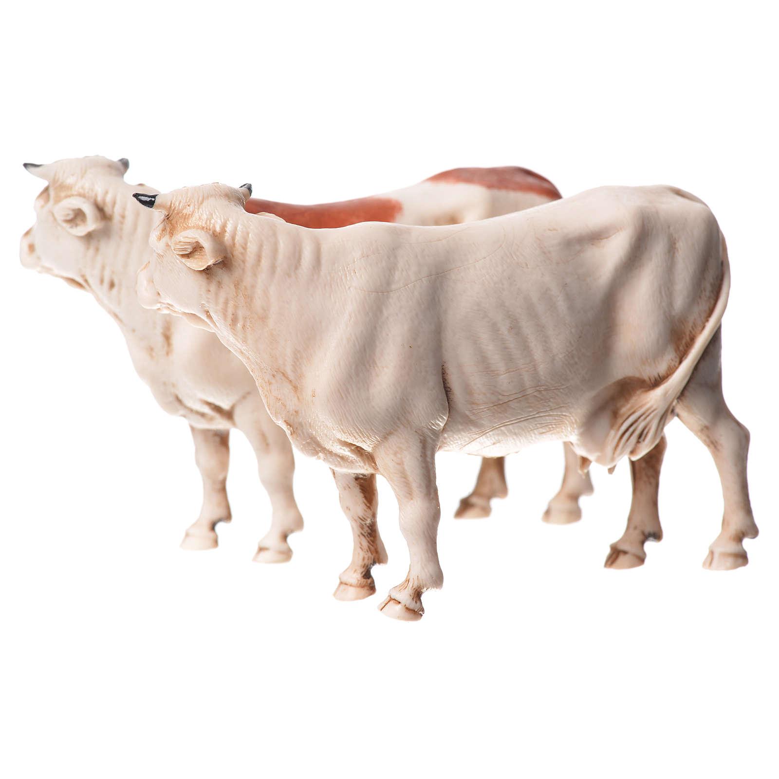 Krowy różne 2 szt. Moranduzzo 10 cm 4