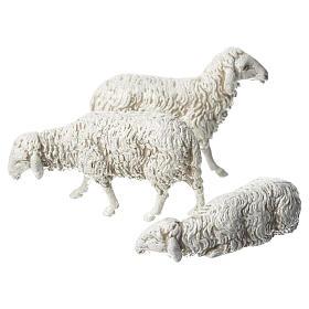 Moutons crèche Moranduzzo 10cm, 3 pcs s2
