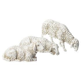 Ziege Hund und Schafe 8St. 10cm Moranduzzo s2