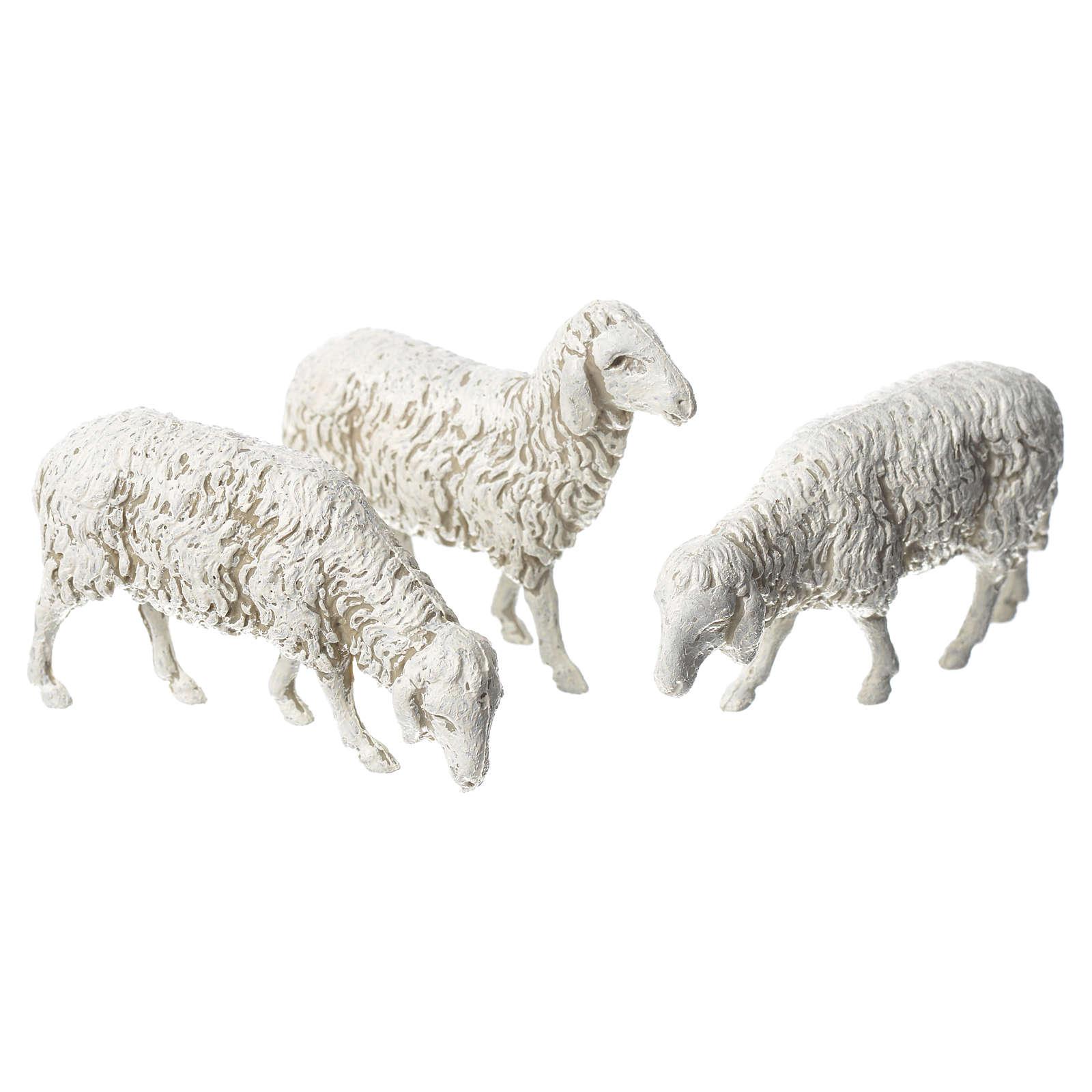 Capra cane e pecore 8 pz Moranduzzo 10 cm 4