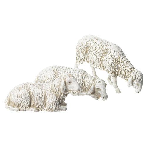 Cabra cão e ovelhas 8 peças Moranduzzo 10 cm 2