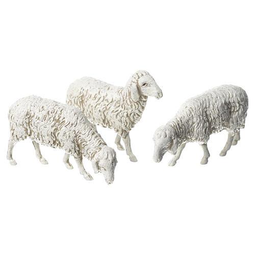 Cabra cão e ovelhas 8 peças Moranduzzo 10 cm 3