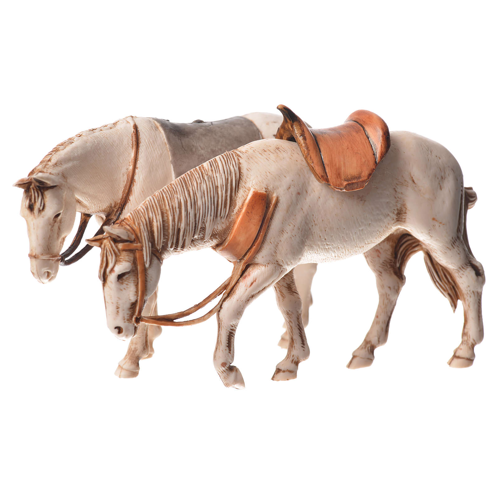 Nativity Scene horses by Moranduzzo 10cm, 2 pieces 4