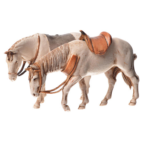 Nativity Scene horses by Moranduzzo 10cm, 2 pieces 2