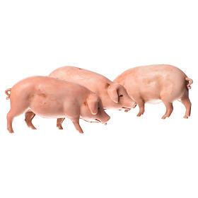 Porcs crèche Moranduzzo 10cm, 2 pcs s1