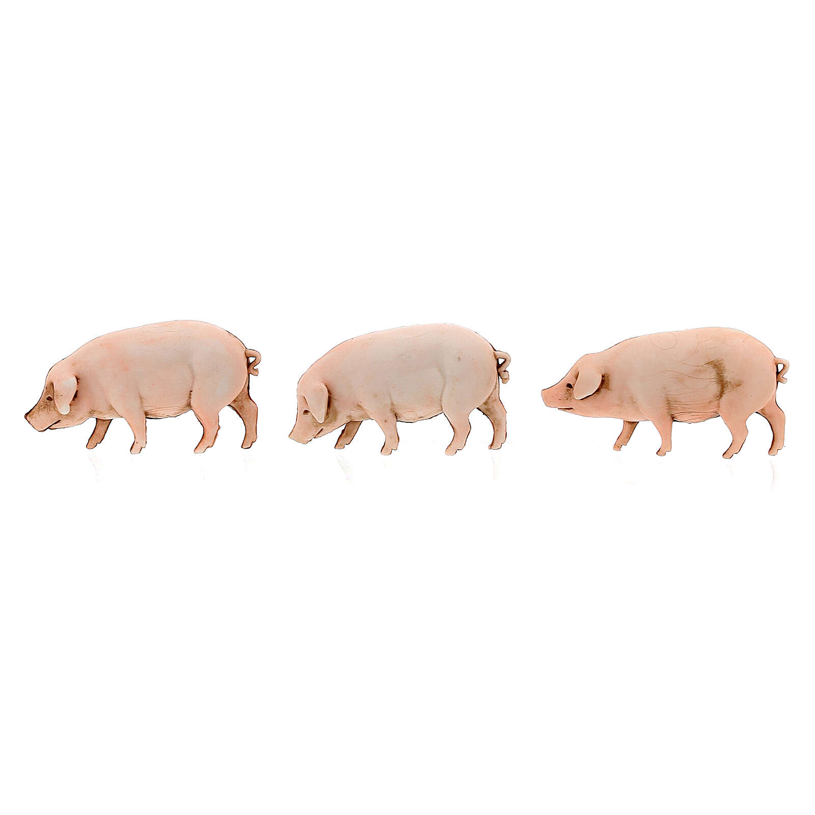 Nativity Scene pigs by Moranduzzo 10cm, 3 pieces 4