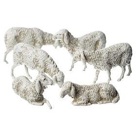 Moutons pour crèche Moranduzzo de 8cm, 6 pcs s1